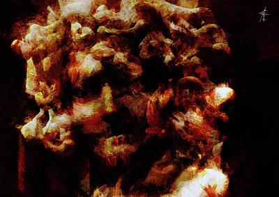 Gorgon Mixed Media - Stheno by Maximiliano Esposito