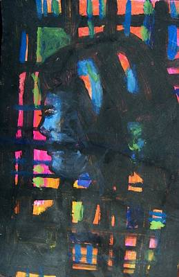 Imprisonment Painting - Still Alone by Judith Redman