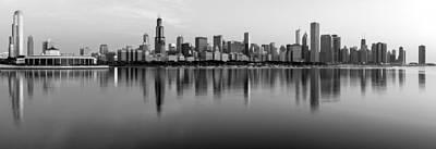 Sears Tower Photograph - Chicago Wakes Up by Matt Hammerstein