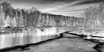 Still Iced Over Print by David Patterson