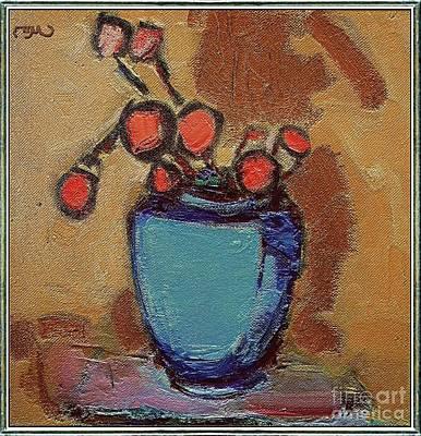 Post Impressionism Mixed Media - Still Life 22 by Pemaro