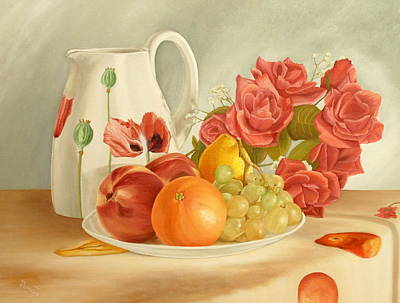Still Life Original by Angeles M Pomata