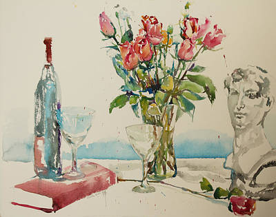Painting - Still Life D2 by Becky Kim