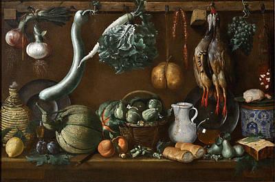 Jacopo Da Empoli Painting - Still Life by Jacopo da Empoli