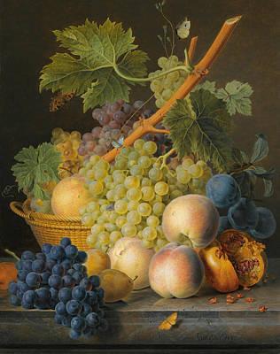 Jan Frans Van Dael Painting - Still Life by Jan Frans van Dael