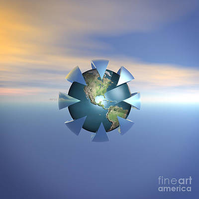 Terra Firma Digital Art - Still Life On Earth by Phil Perkins