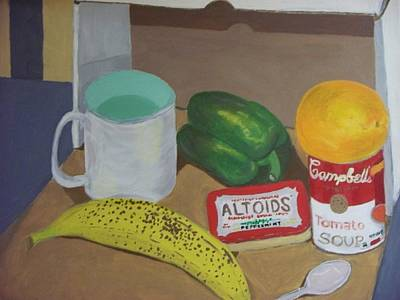 Altoids Painting - Still Life Out Of A Box by Rosanne Bartlett