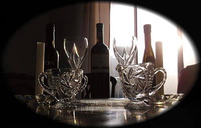 Still Life - The Crystal Elegance Experience Print by Shawn Dall