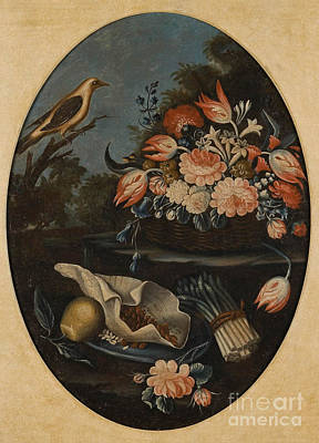 Still Lifes Of Birds Print by MotionAge Designs