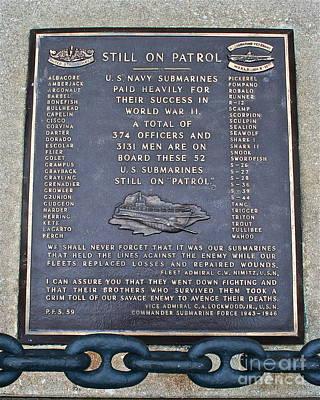 Still On Patrol Print by Rick  Monyahan