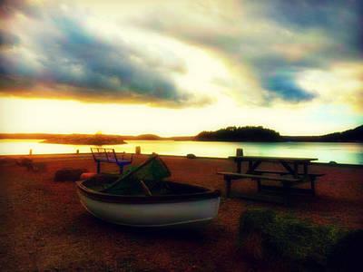 Pause Photograph - Stillness At Coast  by Dagmar Batyahav