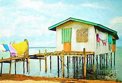Painting - Stilt Escape by Tammy Lee Bradley