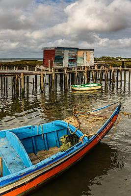 Stilt Houses In Historic Pier II Original by Marco Oliveira