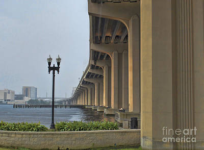 St. John's  River View Print by Luther Fine Art