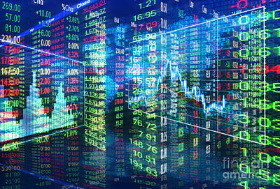 Buy Digital Art - Stock Market Concept by Setsiri Silapasuwanchai