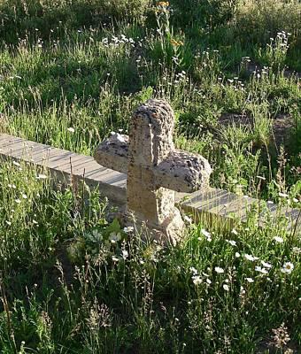 Stone Cross Original by Peter  McIntosh