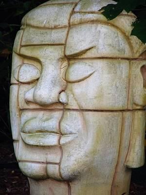 Photograph - Stone Face by Ashok Patel
