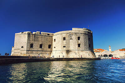 Dubrovnik Photograph - Stone Fortress In Dubrvnik King's Landing by Sandra Rugina