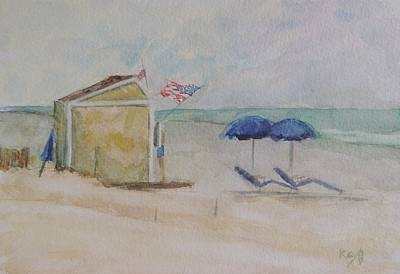 Stone Harbor New Jersey Snack Shack Original by Patty Kay Hall