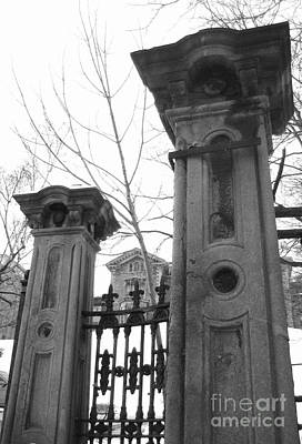 Stone Pillars Original by Reb Frost