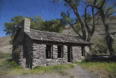 Frontier Farm Digital Art - Stones And Paint by David Kehrli