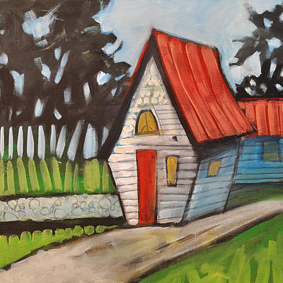 Stonewall Painting - Stonewall Cottage by Tim Nyberg