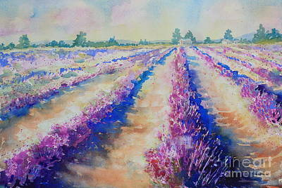 Stonewall Painting - Stonewall Lavender IIi by Marsha Reeves
