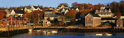 New England States Photograph - Stonington Me by Panoramic Images
