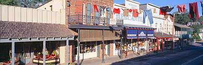 Store Fronts, Angels Camp, California Print by Panoramic Images