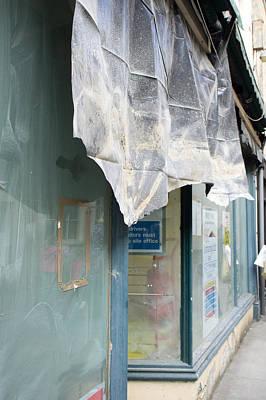 High Street Photograph - Store Refurbishmnets by Tom Gowanlock