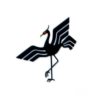 Stork Mixed Media - Stork by Frederick Holiday