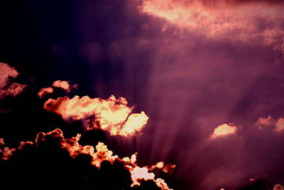 Clouds Photograph - Storm And Sun by Emily Stauring