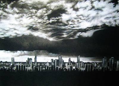 'storm Approaching' Print by Lizelle Engelbrecht
