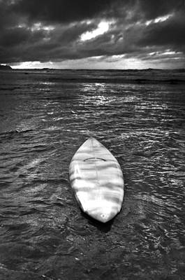Bnw Photograph - Storm Board by Sean Davey