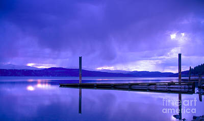 Contradiction Photograph - Storm Brewing by Idaho Scenic Images Linda Lantzy