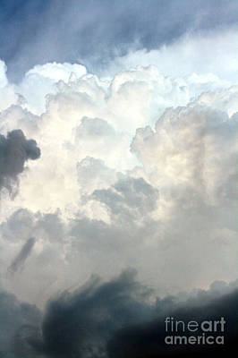 Clouds Photograph - Storm Clouds 1 by Balanced Art