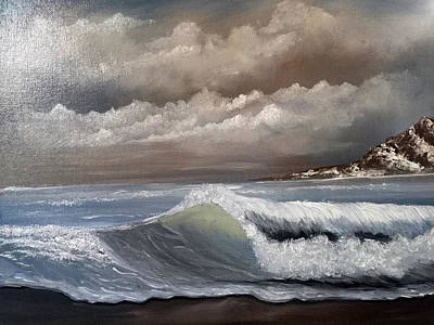 Painting - Storm Clouds by Janet Jackson