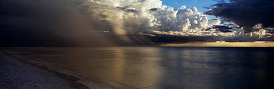 Collier Photograph - Storm Clouds Over The Sea by Panoramic Images