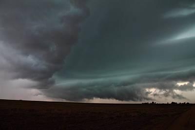 Thunderstorm Photograph - Storm Collision  by Marcelo Albuquerque