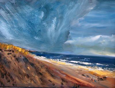 Storm Front Print by Michael Helfen