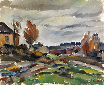 Ilmari Aalto Painting - Storm by Ilmari Aalto