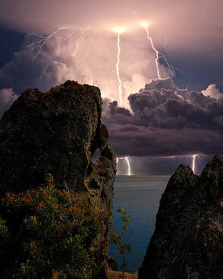 Storm In The Crimea Print by Yuri Hope