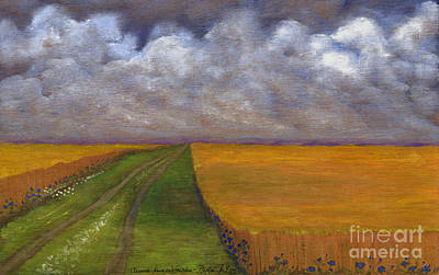 Storm Is Coming Print by Anna Folkartanna Maciejewska-Dyba