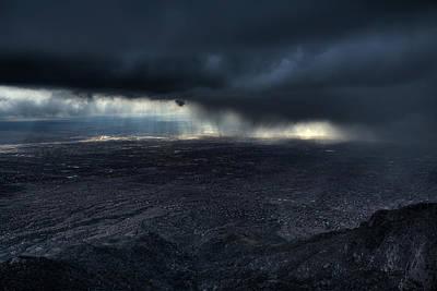 Storm Over Alburquerque Print by Max Witjes
