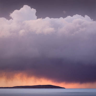 Storm Over Gruinard Bay Print by Dave Bowman