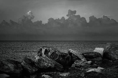 Greek Photograph - Storm Over Roda- Greece by Cambion Art