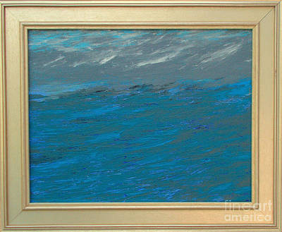 Seafarer Painting - Storm Over Sea by Rick Maxwell