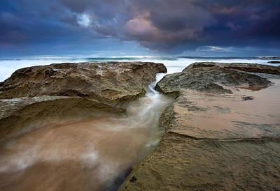 Storm Surge Print by Mike  Dawson