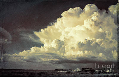 Thunderhead Photograph - Storm Warning by Marvin Spates