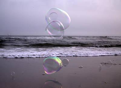Storming Bubbles Print by Betsy C Knapp